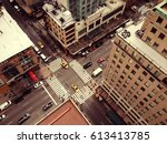 Bird's Eye View Of New York...