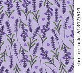 hand drawn seamless pattern... | Shutterstock .eps vector #613429901