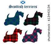 Set F Scottish Terriers On...