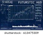 futuristic user interface for...
