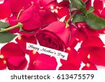 happy mother's day   greeting... | Shutterstock . vector #613475579