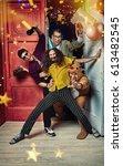 people  men  leisure ...   Shutterstock . vector #613482545