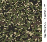 camo  camouflage pattern... | Shutterstock .eps vector #613501379
