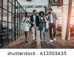creative business on the move.... | Shutterstock . vector #613503635
