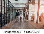 young business professionals.... | Shutterstock . vector #613503671