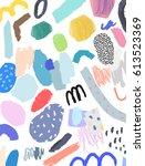 artistic creative universal... | Shutterstock .eps vector #613523369
