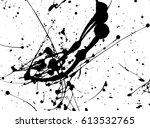 paint splatter background | Shutterstock .eps vector #613532765
