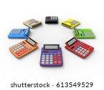 3d render illustration of... | Shutterstock . vector #613549529