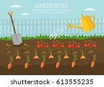 big set infographics vector... | Shutterstock .eps vector #613555235