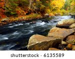 Forest River In The Fall....