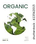 environment eco natural... | Shutterstock . vector #613562015