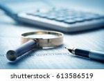 financial planning | Shutterstock . vector #613586519