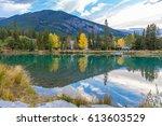 banff national park  alberta... | Shutterstock . vector #613603529