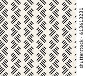 seamless pattern with stripes.... | Shutterstock .eps vector #613613231