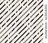 black and white irregular...   Shutterstock .eps vector #613616201