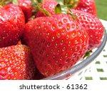 strawberry | Shutterstock . vector #61362