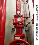 Small photo of blurred photo, Blurry image, pump booster fire control system, background
