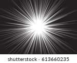 background of radial lines for... | Shutterstock .eps vector #613660235