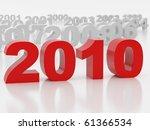 3d illustration over white... | Shutterstock . vector #61366534