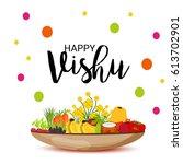 vector illustration of a banner ... | Shutterstock .eps vector #613702901