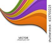 abstract background. vector.... | Shutterstock .eps vector #613703225
