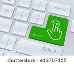 design of white computer...   Shutterstock .eps vector #613707155