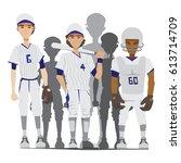 illustration cartoon of... | Shutterstock .eps vector #613714709
