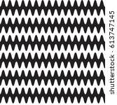 seamless wave pattern.... | Shutterstock .eps vector #613747145