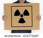 Radioactive caution warning...