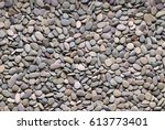 Grey River Pebble Background
