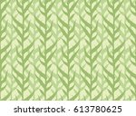 corn field seamless pattern | Shutterstock .eps vector #613780625
