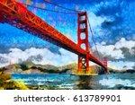 San Francisco Golden Bridge Oi...