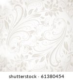 seamless wallpaper  vector... | Shutterstock .eps vector #61380454
