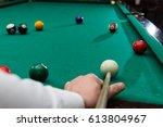 Billiards Pool Game  Athlete...