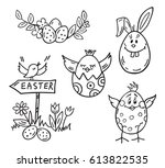 easter bunny vector  easter