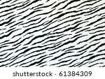 White Tiger Skin Artificial