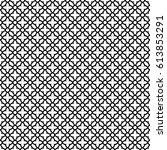 vector seamless arabic pattern... | Shutterstock .eps vector #613853291
