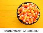 Bowl With Tasty Halloween...