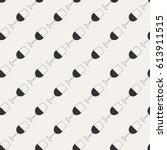 pattern. light gray pattern... | Shutterstock .eps vector #613911515