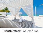 luxury tourism background... | Shutterstock . vector #613914761