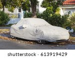 Car Under A Protective Cover...