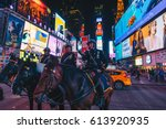 new york city  usa  march 21 ... | Shutterstock . vector #613920935