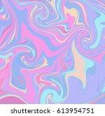 marbling texture design. paint... | Shutterstock .eps vector #613954751