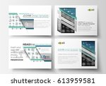 set of business templates for... | Shutterstock .eps vector #613959581
