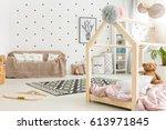 multifunctional  black and... | Shutterstock . vector #613971845