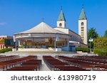 saint james church of... | Shutterstock . vector #613980719