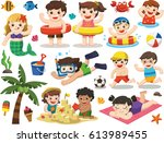 set vector design element for... | Shutterstock .eps vector #613989455