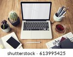 computer network connection... | Shutterstock . vector #613995425
