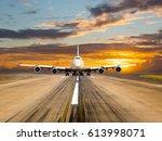Passenger Wide Body Plane Take...