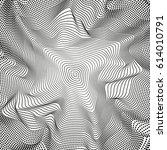 monochrome dots pattern... | Shutterstock .eps vector #614010791